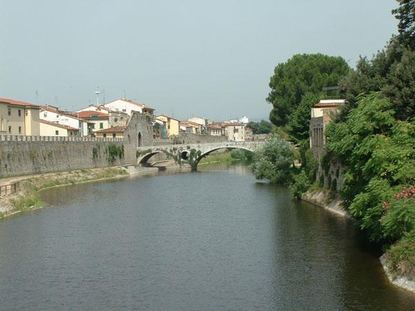 il fiume Bisenzio